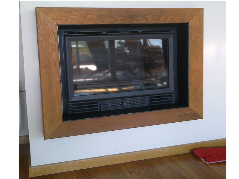 Inserts of conversion of the traditional into an energy save fireplace.