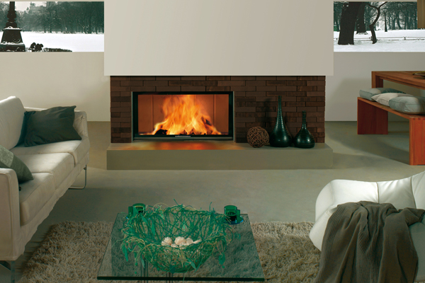 energy save fireplace Spartherm 100 bh-4s 1