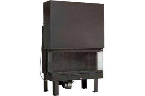 energy save fireplace Misailidis T 90 three side