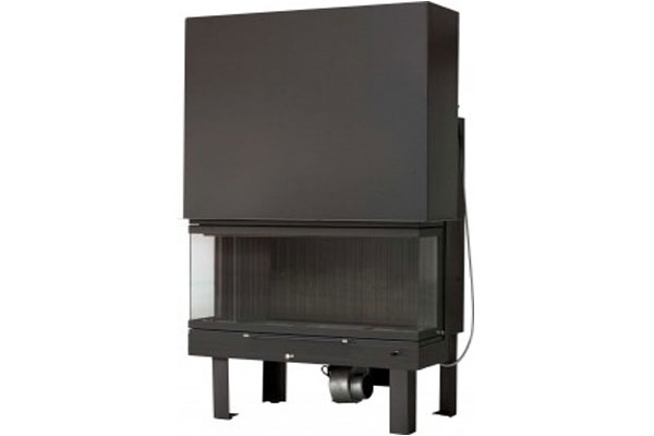energy save fireplace Misailidis 90 three side