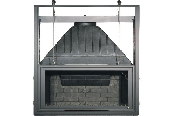 energy save fireplace 100 cast iron natural flow