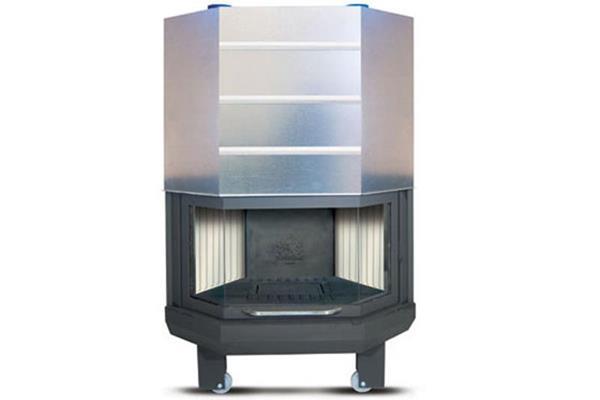 Ενεργειακό τζάκι αερόθερμο Superkamin Sener 900 R πολύγωνο