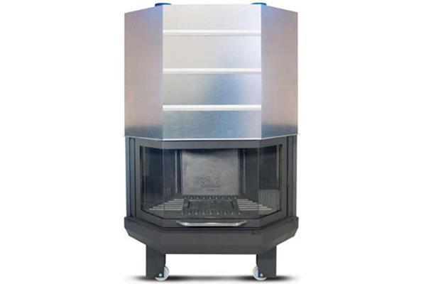 Ενεργειακό τζάκι αερόθερμο Superkamin Sener 900 C πολύγωνο