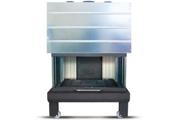 Ενεργειακό τζάκι αερόθερμο Superkamin Sener 950 R τρίφατσο