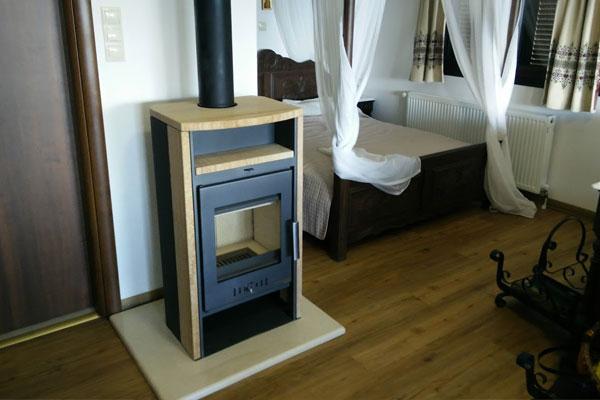 Ενεργειακή σόμπα ξύλου VITORRE της HASS & SOHN