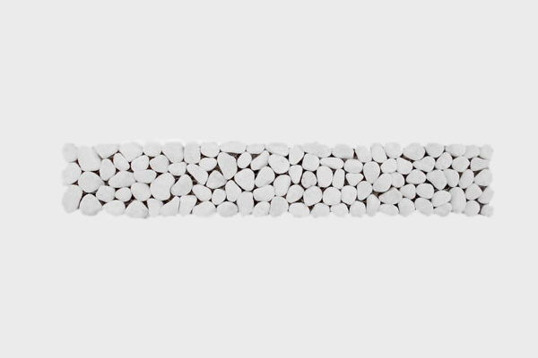 Μπορντούρα Λευκή 5x30cm