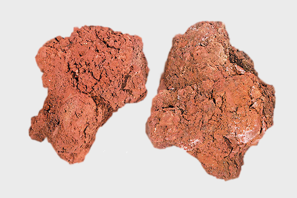 Πέτρα κήπου Λάβα κόκκινη
