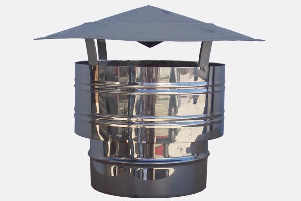 Καπέλο Αντιανεμικό INOX