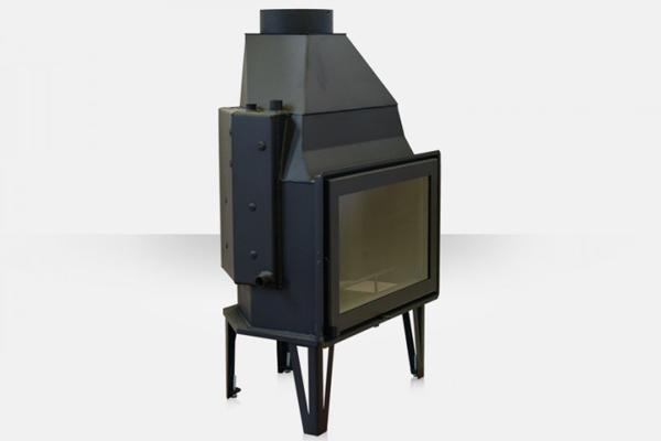 Ενεργειακό τζάκι καλοριφέρ AQUA 800 Θερμοζέλ με ανοιγόμενη πόρτα