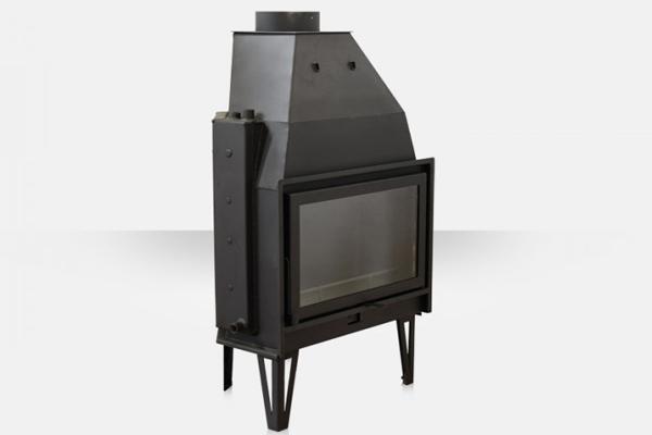 Ενεργειακό τζάκι καλοριφέρ AQUA 900 Θερμοζέλ με ανοιγόμενη πόρτα