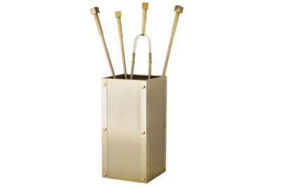 Κουβαδάκι τζακιού με εργαλεία 1220-K26 Όρο ματ / όρο