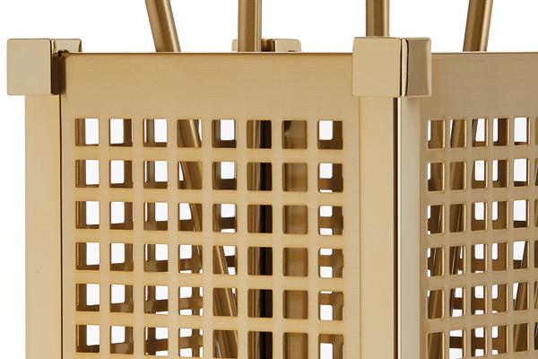 Κουβαδάκι τζακιού με εργαλεία Κ25-1225 Όρο ματ - όρο λεπτομέρεια