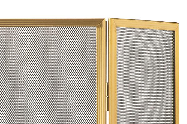 Προστατευτικό τζακιού 518 χρυσό ματ λεπτομέρεια