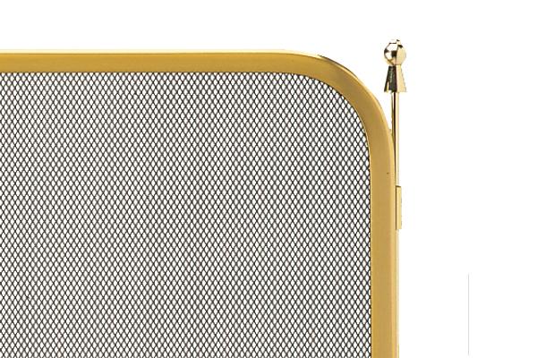 Προστατευτικό τζακιού 520 όρο ματ λεπτομέρεια
