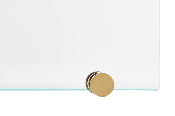 Αξεσουάρ τζακιού Προστατευτικό 542 όρο ματ - χρώμιο λεπτομέρεια