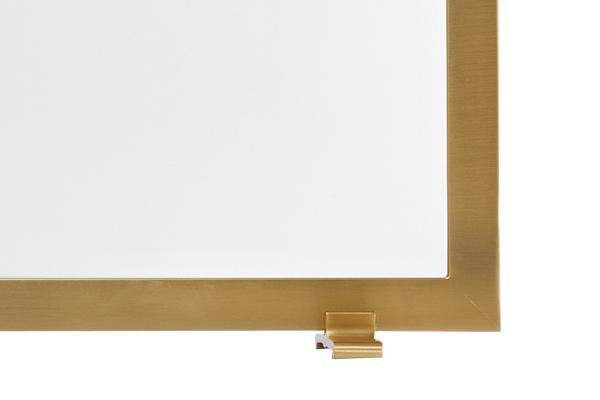 Αξεσουάρ τζακιού Προστατευτικό 543 όρο ματ - χρώμιο λεπτομέρεια