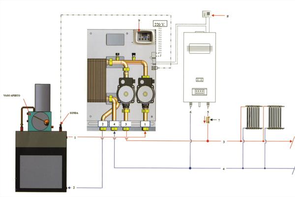 Σχέδιο εγκατάστασης υδραυλικού  ΚΙΤ 1000
