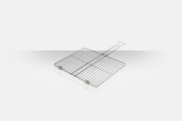 Chromium grills for barbecues