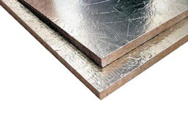 πετροβάμβακας με φύλλο αλουμινίου