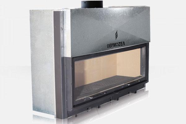 Ενεργειακό τζάκι Architecture 1400 της Θερμοζέλ