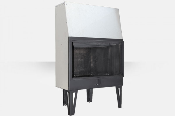 Ενεργειακό τζάκι Open 80 χωρίς πόρτα της Θερμοζέλ