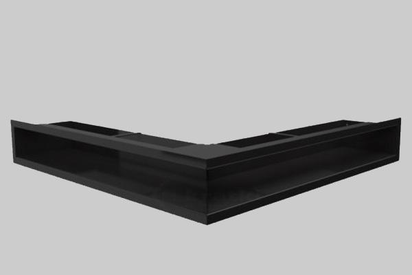 Luft γωνιακή περσίδα μαύρη