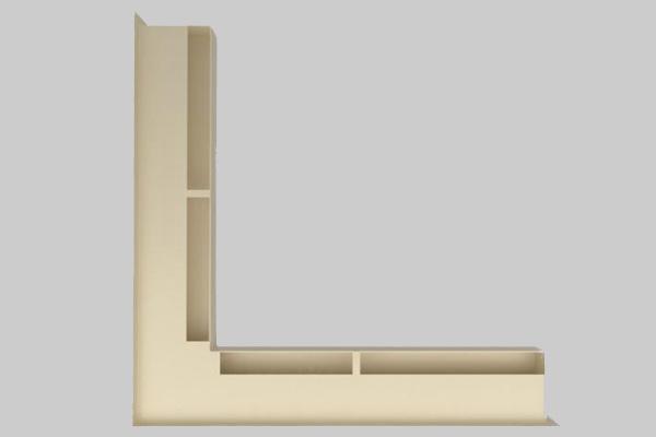 Περσίδα Luft αριστερή γωνία 6 x 56 x 56
