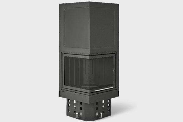 Ενεργειακό τζάκι QUATTRO QL 500 δίφατσο