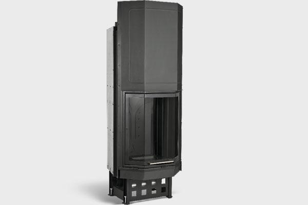 Ενεργειακό τζάκι PFH 450 πολύγωνο της CAMINODESIGN