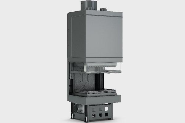 Ενεργειακό τζάκι TF 600 B τρίφατσο της CAMINODESIGN