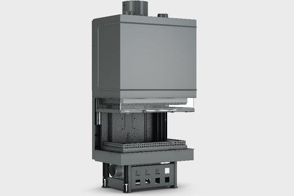 Ενεργειακό τζάκι TF 800 B τρίφατσο της CAMINODESIGN
