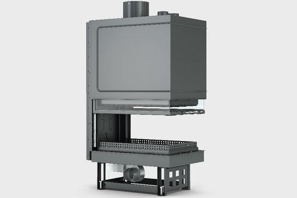 Ενεργειακό τζάκι TF 600x900 B τρίφατσο της CAMINODESIGN