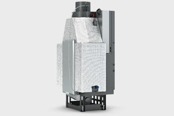 Ενεργειακό τζάκι Plano EF 810 IDRO της CAMINODESIGN πίσω όψη