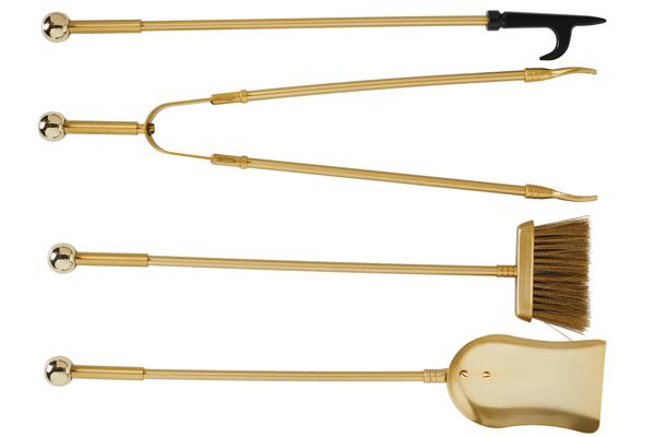 Εργαλεία τζακιού 1150 Όρο ματ