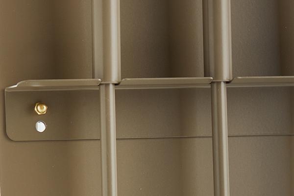 Κρεμανταλάς τζακιού 1230-W01 καφέ ελιάς λεπτομέρεια