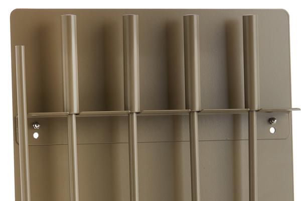 Κρεμανταλάς τζακιού 1230-W02 καφέ ελιάς λεπτομέρεια