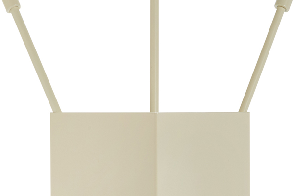 Fireplace accessories bucket with tools Κ36 - 1230 ivory details