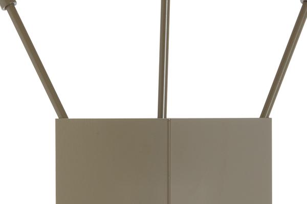Κουβαδάκι τζακιού με εργαλεία Κ36-1230 καφέ ελιάς λεπτομέρεια