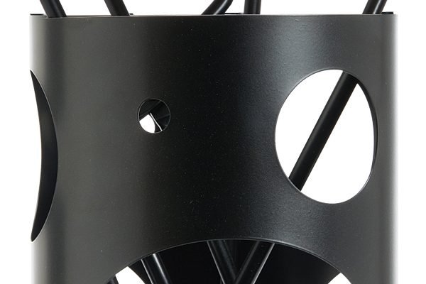 Fireplace accessories bucket with tools K30-1230 black details