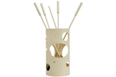 Κουβαδάκι τζακιού με εργαλεία Κ30 – 1230 Ιβουάρ
